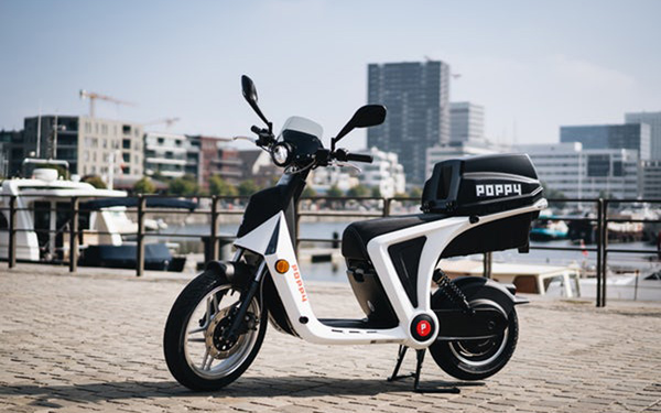Poppy Launches Electric Scooters in Antwerp