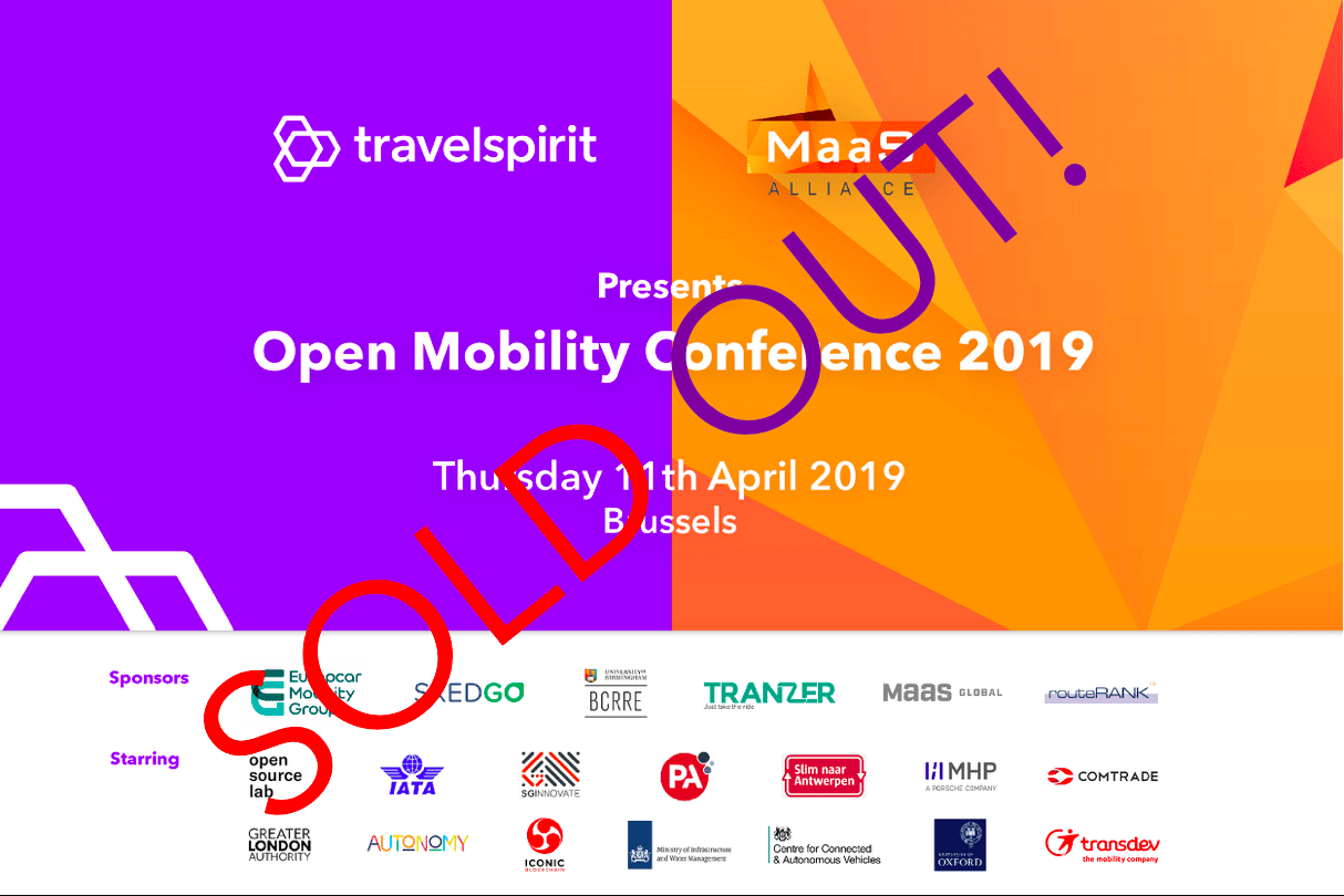 Report from the MaaS Alliance & TravelSpirit Open Mobility