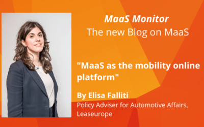 MaaS Monitor: MaaS as the mobility online platform