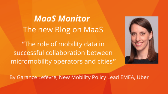 MaaS Monitor: The role of mobility data in successful collaboration between micromobility operators and cities