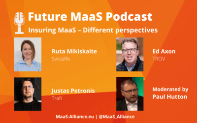 """PODCAST """"Insuring MaaS – Different perspectives"""""""