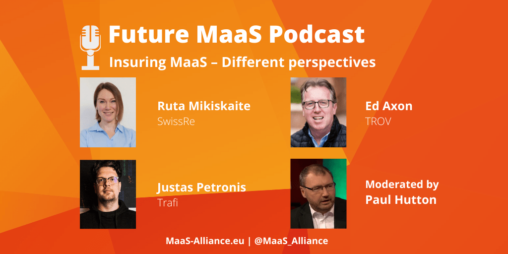 "PODCAST ""Insuring MaaS – Different perspectives"""