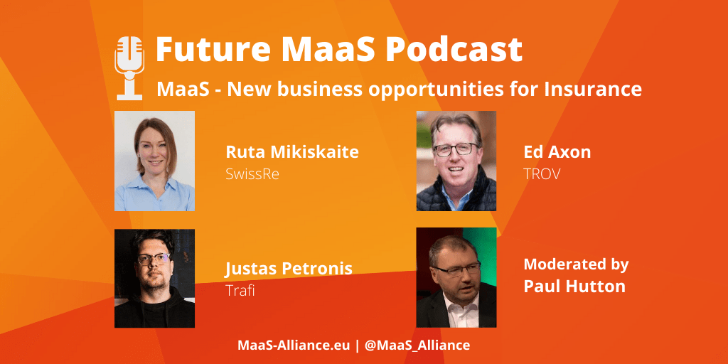 Future MaaS podcast – New business opportunities for insurance innovations