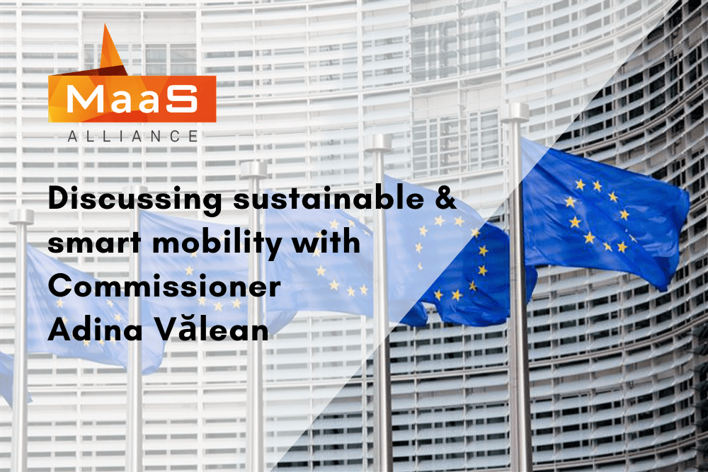 Discussing sustainable and smart mobility with Commissioner Valean