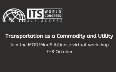Join the MOD/MaaS Alliance virtual workshop