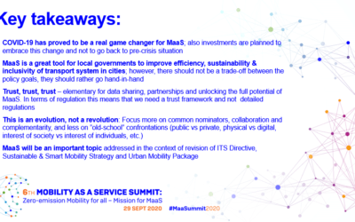 MaaS Summit Report available
