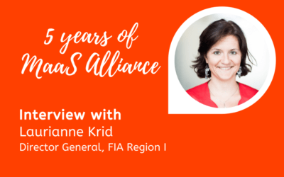 5 Years of MaaS Alliance – Talking about mobility, users and multimodality