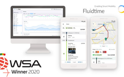 Fluidtime's MaaS technology wins World Summit Award