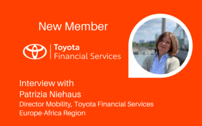 Interview with Toyota Financial Services – Our first 2021 New Member