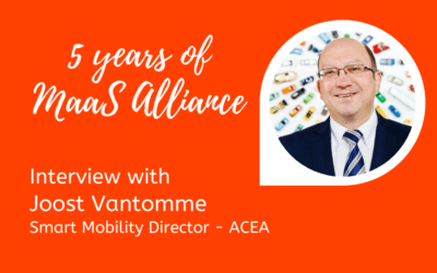 5 Years of MaaS Alliance – Towards decarbonisation, digitalisation and automation