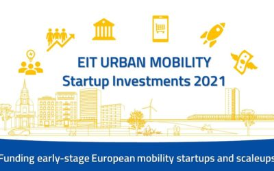 EIT Urban Mobility to invest in high-impact startups and SMEs