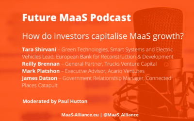 How do investors capitalise on MaaS growth?