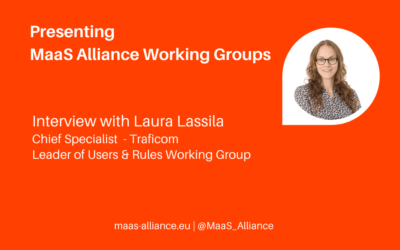 Talking policy and regulations with Laura Lassila, Traficom
