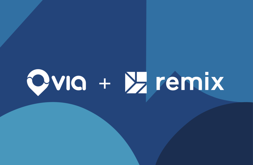Via acquires Remix to create the first end-to-end TransitTech solution for cities
